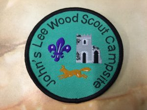 JLW campsite badge